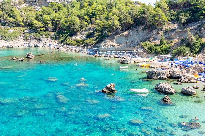 top-five-beaches-in-rhodes-anthony-quinn-bay-daytrip4u